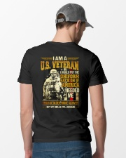 If America Needed Me Classic T-Shirt lifestyle-mens-crewneck-back-6