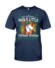 Vietnam Veteran's Papa Granddaughter Classic T-Shirt thumbnail