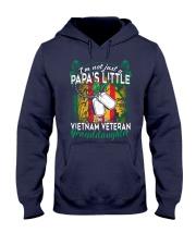 Vietnam Veteran's Papa Granddaughter Hooded Sweatshirt front