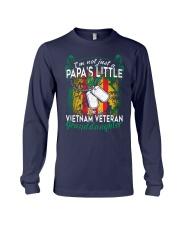Vietnam Veteran's Papa Granddaughter Long Sleeve Tee thumbnail