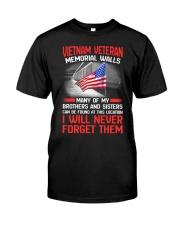 Memorial Wall Classic T-Shirt front