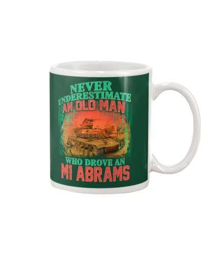 Old Man Drove A M1 Abrams