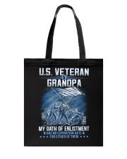 Oath Of Enlistment Tote Bag thumbnail