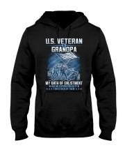 Oath Of Enlistment Hooded Sweatshirt front