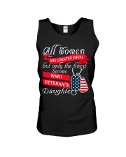 Finest WWII Veteran's Daughters Unisex Tank thumbnail