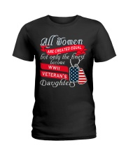 Finest WWII Veteran's Daughters Ladies T-Shirt thumbnail