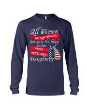 Finest WWII Veteran's Daughters Long Sleeve Tee thumbnail