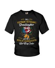 Vietnam Veteran Granddaughter-Cooler Youth T-Shirt thumbnail