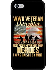 WWII Veteran Daughter Phone Case thumbnail