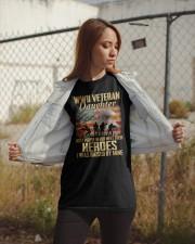 WWII Veteran Daughter Classic T-Shirt apparel-classic-tshirt-lifestyle-07