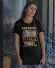 WWII Veteran Daughter Classic T-Shirt apparel-classic-tshirt-lifestyle-08