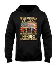 WWII Veteran Daughter Hooded Sweatshirt thumbnail