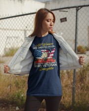 The Finest-WWII Vet Daughter Classic T-Shirt apparel-classic-tshirt-lifestyle-07
