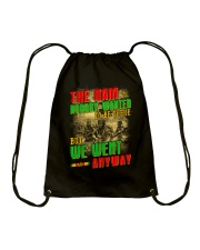 No Body Wanted To Be There Drawstring Bag thumbnail