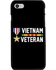 Vietnam Veteran-Sliver Star Medal Phone Case thumbnail