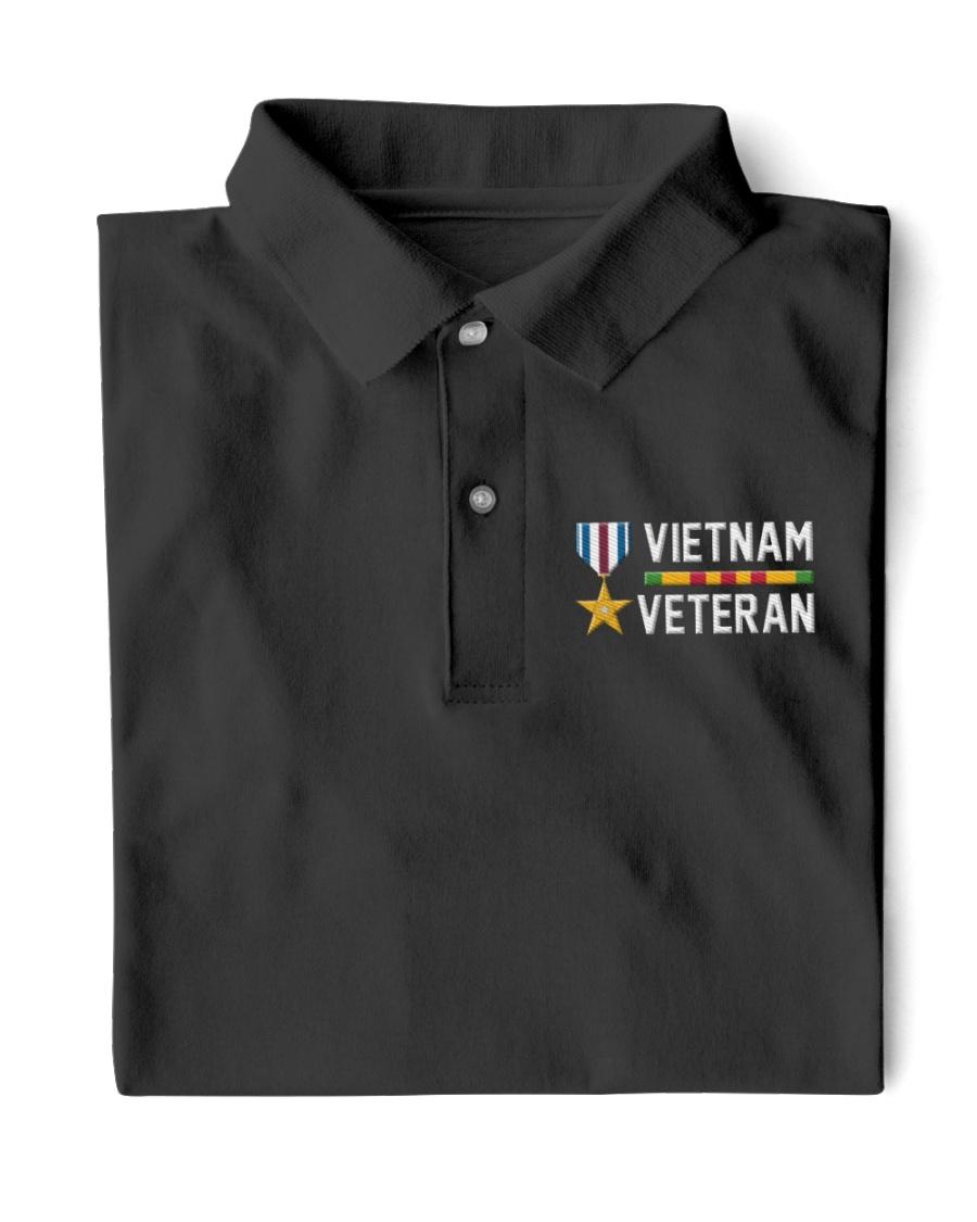 Vietnam Veteran-Sliver Star Medal Classic Polo
