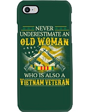 Never Underestimate An Old Woman Phone Case thumbnail