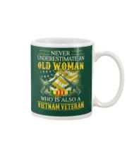 Never Underestimate An Old Woman Mug thumbnail