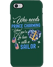 In Love With A Sailor Phone Case thumbnail