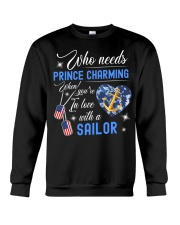 In Love With A Sailor Crewneck Sweatshirt thumbnail