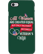 The Finest Becomes A Veteran's Wife Phone Case thumbnail