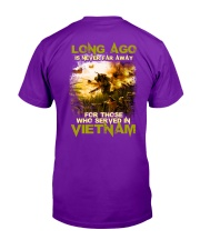 Long Ago Is Never Far Away Back Classic T-Shirt back