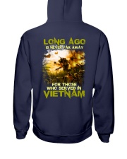 Long Ago Is Never Far Away Back Hooded Sweatshirt thumbnail