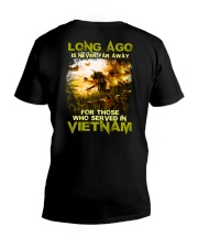 Long Ago Is Never Far Away Back V-Neck T-Shirt thumbnail