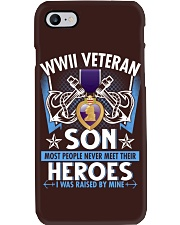 Hero Sailor WWII Veteran's Son Phone Case thumbnail