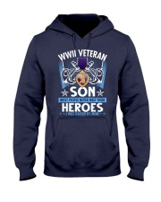 Hero Sailor WWII Veteran's Son Hooded Sweatshirt thumbnail