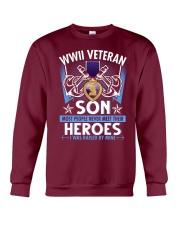 Hero Sailor WWII Veteran's Son Crewneck Sweatshirt thumbnail