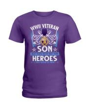 Hero Sailor WWII Veteran's Son Ladies T-Shirt thumbnail