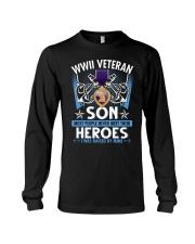 Hero Sailor WWII Veteran's Son Long Sleeve Tee thumbnail