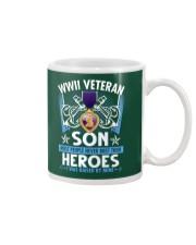 Hero Sailor WWII Veteran's Son Mug thumbnail