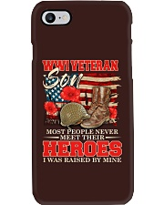 I Was Raised By WWI Veteran Phone Case thumbnail