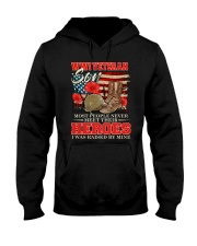 I Was Raised By WWI Veteran Hooded Sweatshirt front