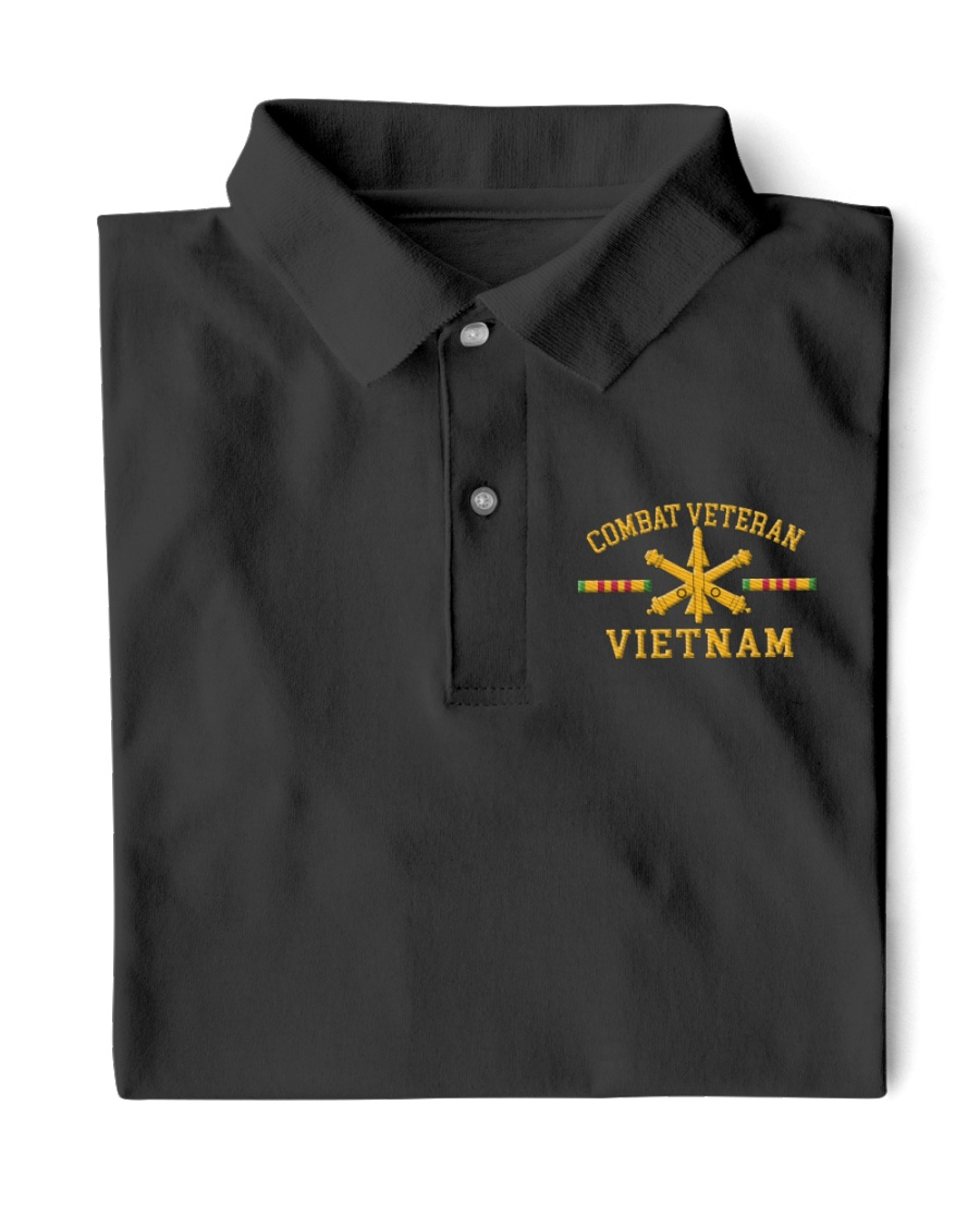Combat Veteran Vietnam-Air Defense Artillery Classic Polo