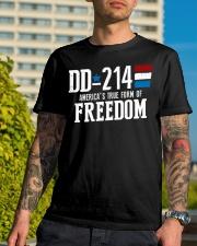 DD-214 Classic T-Shirt lifestyle-mens-crewneck-front-8