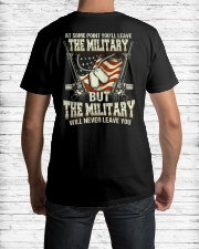 The Military Will Never Leave You Classic T-Shirt lifestyle-mens-crewneck-back-1
