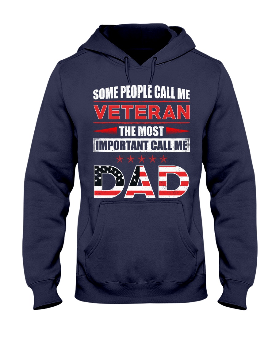 Call Me Dad Hooded Sweatshirt