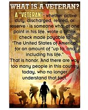 Veteran Poster 11x17 Poster front