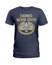 Earn-Not Given-CMB Ladies T-Shirt thumbnail