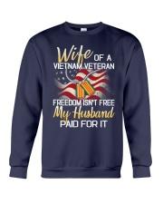 Wife Of A Vietnam Veteran Crewneck Sweatshirt thumbnail