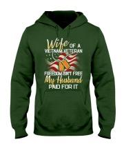 Wife Of A Vietnam Veteran Hooded Sweatshirt thumbnail