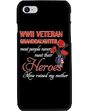WWII Veteran Granddaughter Phone Case thumbnail