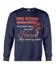 WWII Veteran Granddaughter Crewneck Sweatshirt thumbnail
