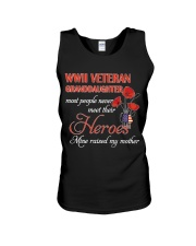 WWII Veteran Granddaughter Unisex Tank thumbnail