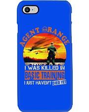 Agent Orange In Basic Training Phone Case thumbnail