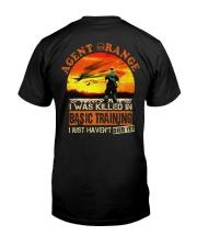 Agent Orange In Basic Training Classic T-Shirt back