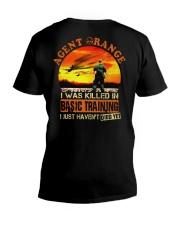 Agent Orange In Basic Training V-Neck T-Shirt thumbnail